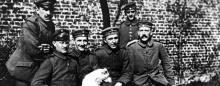 Waar verbleef Adolf Hitler tijdens de winter van 1916-1917 ?