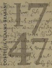 De volkstelling van 1747 in oostelijk Vlaams-Brabant