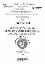 Oelegem Burgerlijke stand Huwelijken 1794-1919