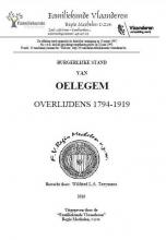 Oelegem Burgerlijke Stand Overlijden 1794-1919