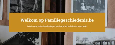 Ontdek het vernieuwde familiegeschiedenis.be