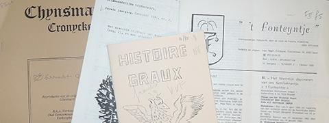 Overzicht van de familietijdschriften in het Documentatie- en studiecentrum voor familiegeschiedenis te Merksem