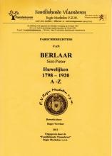 Parochieregisters van Berlaar Sint-Pieter. Huwelijken 1798-1920